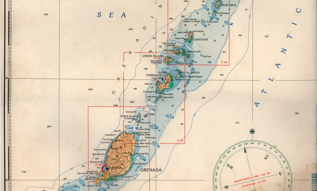 nautical-chart-carribean-carriacou-vanishing-sail-saltyjobs