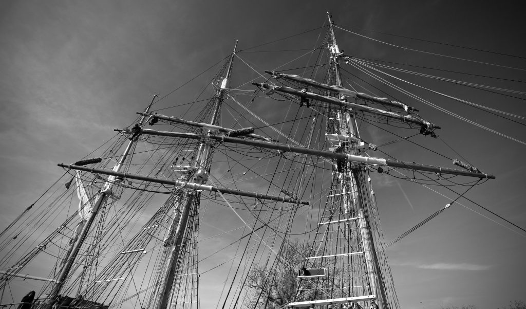 Kaskelot - work on a tall ship