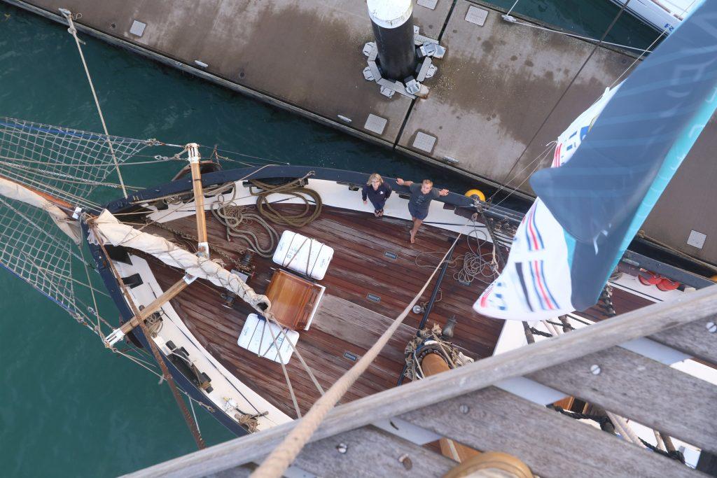 Queen Galadriel SaltyJobs Cirdan Sailing Trust