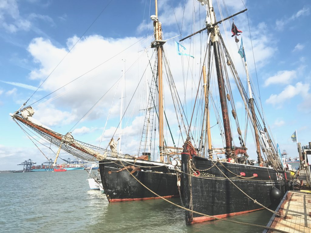 Harwich International Shanty Festival 2017 Excelsior Queen Galadriel SaltyJobs