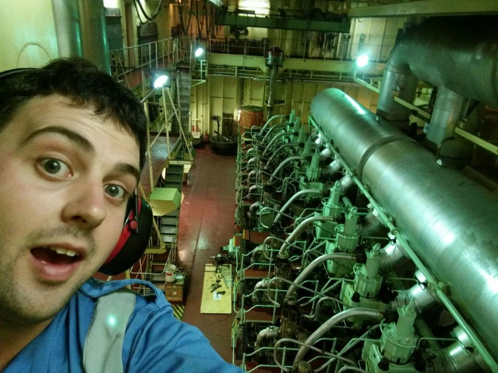 Our Interview with James, Marine Engineer | SaltyJobs co
