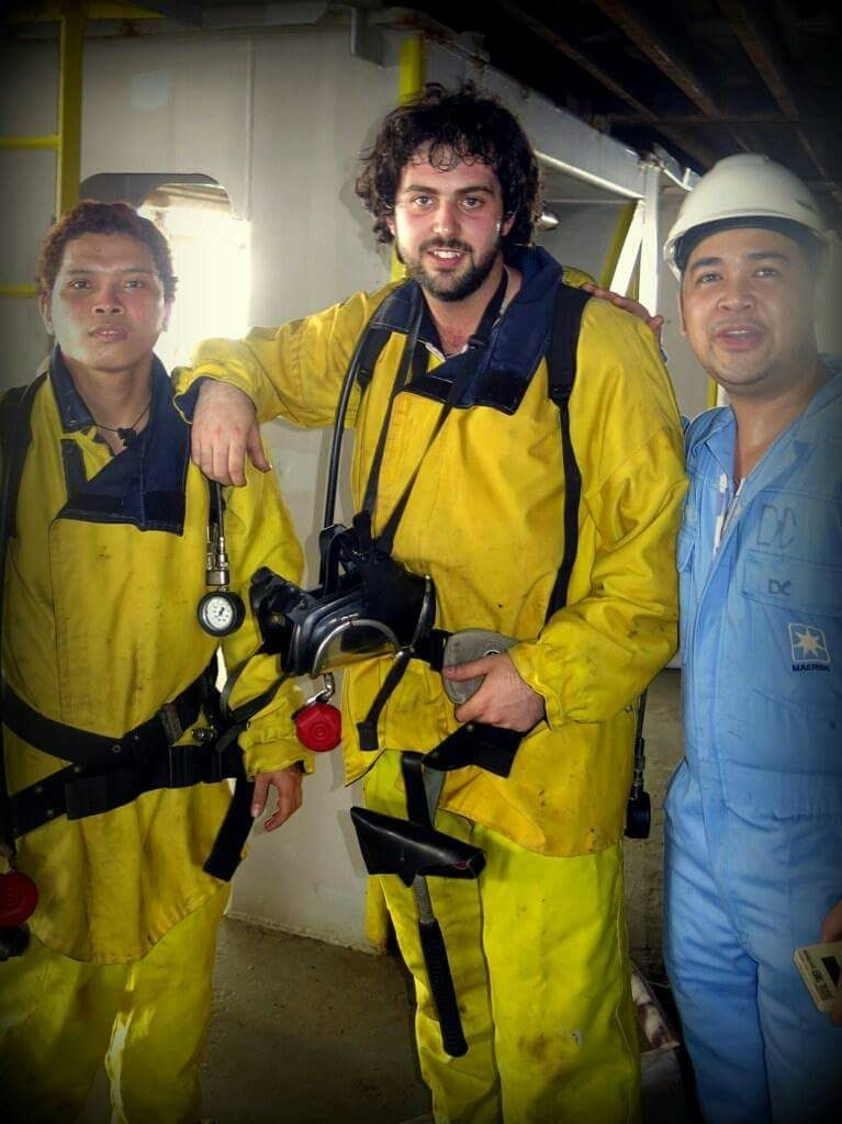 Our Interview with James, Marine Engineer   SaltyJobs co