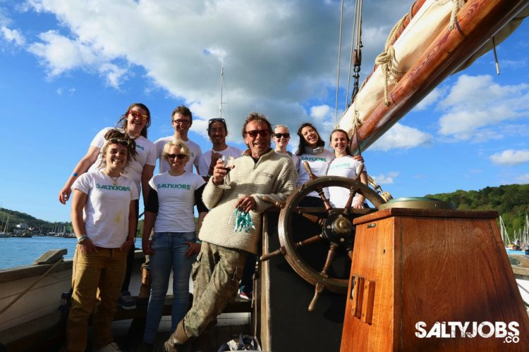 Sailing On Leader: Interviews With The Salty Crew