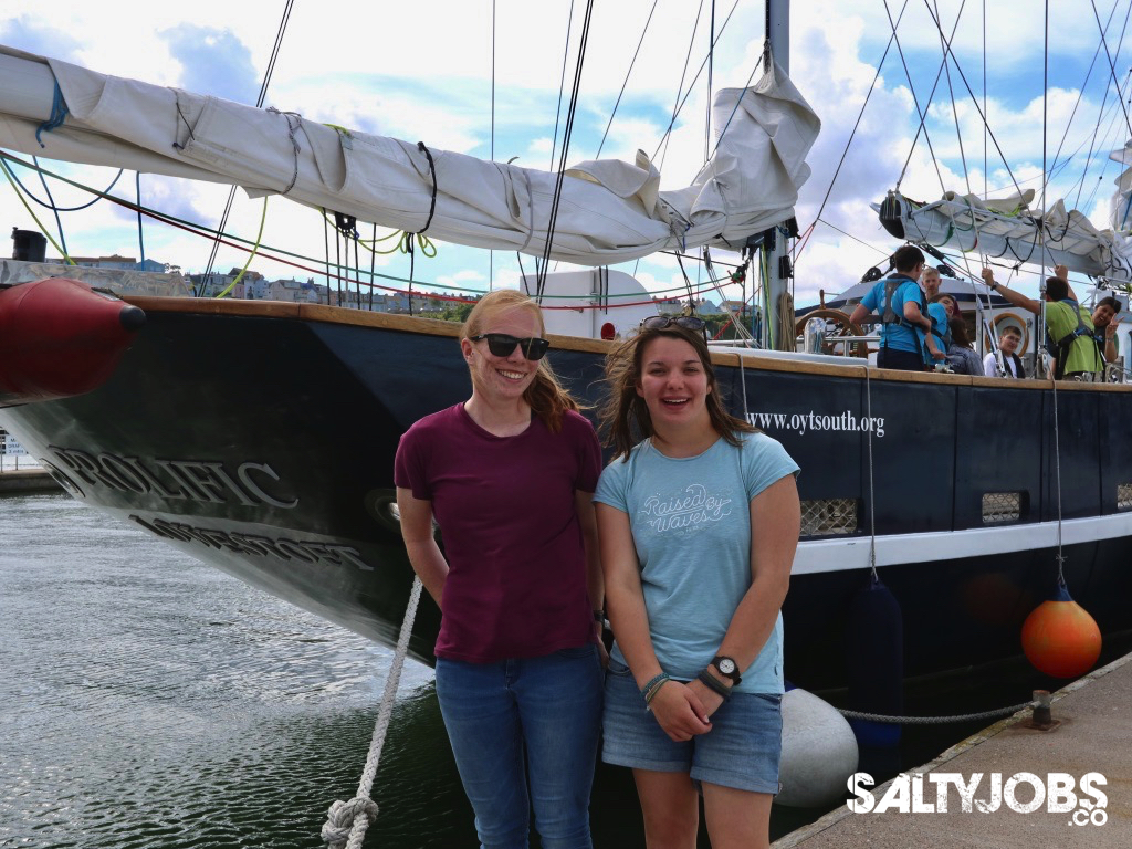 YOUR STORIES: Meet Prolific Sail Trainers Peta & Holly